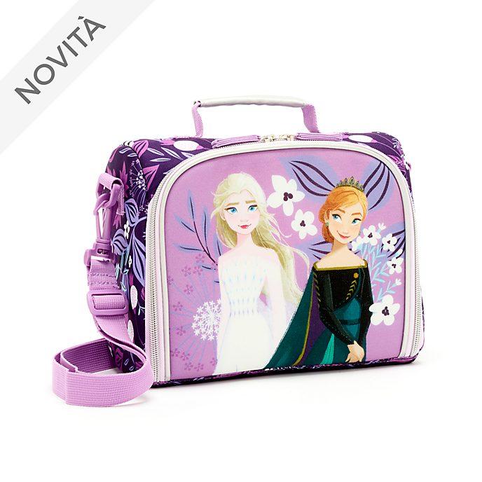Borsetta porta merenda Anna ed Elsa Frozen 2: Il Segreto di Arendelle Disney Store