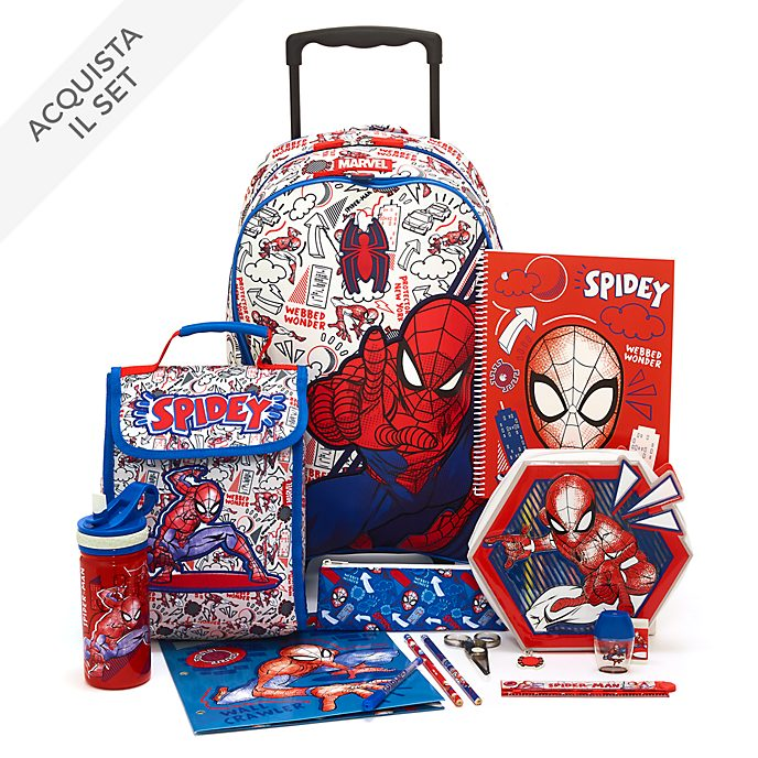 Collezione Back to School Spider-Man Disney Store