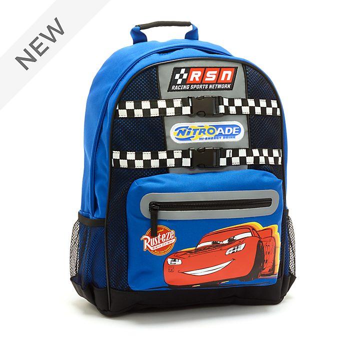 Disney Store Lightning McQueen Backpack, Disney Pixar Cars