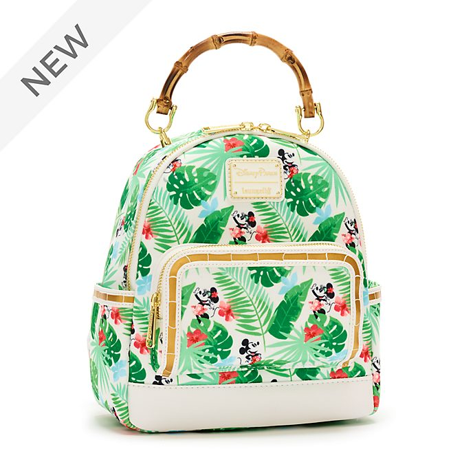 Loungefly Mickey and Minnie Tropical Hideaway Backpack