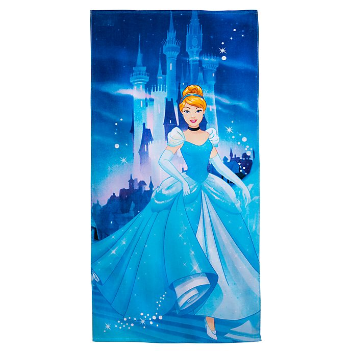 Disney Store Cinderella Beach Towel