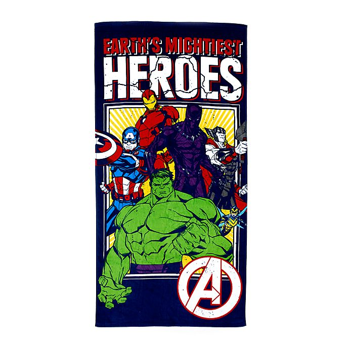 Disney Store Avengers Beach Towel