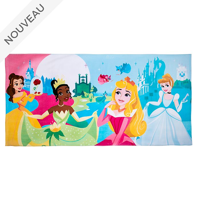 Disney Store Serviette de plage Princesses Disney
