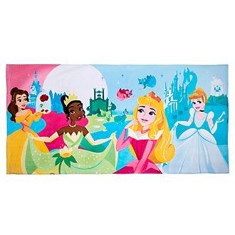 Disney Store Serviette de plage Princesses Disney