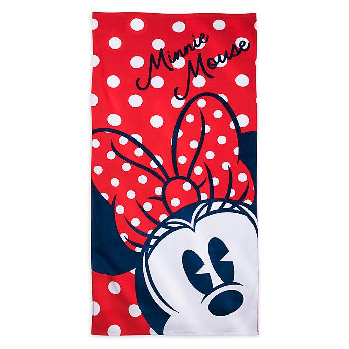 Disney Store Minnie Mouse Beach Towel