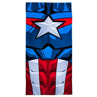 Disney Store Captain America Beach Towel