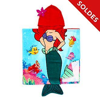 Disney Store Serviette avec capuche La Petite Sirène pour enfants