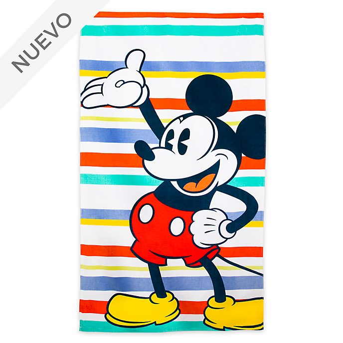 Toalla para playa grande Mickey Mouse, Disney Store