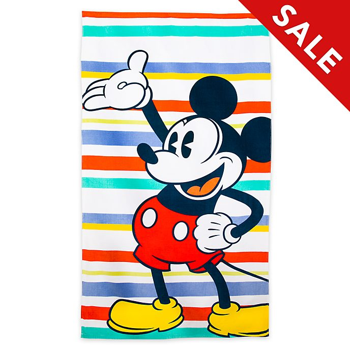 Disney Store Mickey Mouse Large Beach Towel