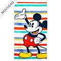 Disney Store Grande serviette de plage Mickey