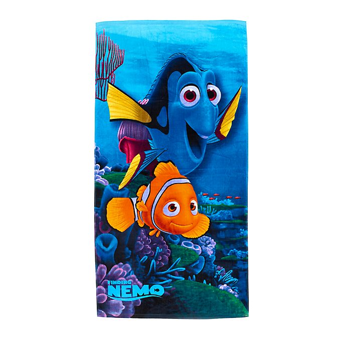 Toalla de playa Buscando a Nemo, Disney Store
