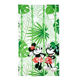 Telo mare grande Topolino e Minni collezione Tropical Hideaway Disney Store