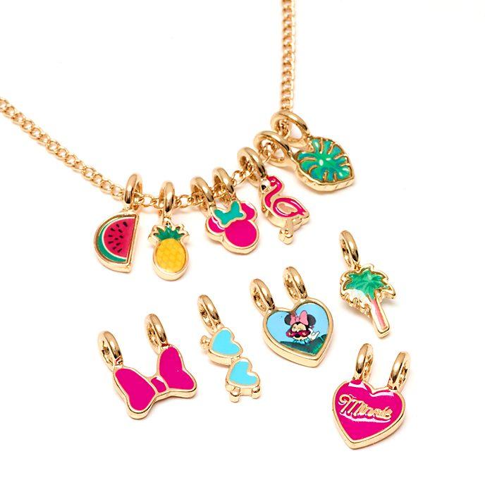 Disney Store - Minnie Maus - Individuell anpassbare Halskette mit Anhängern