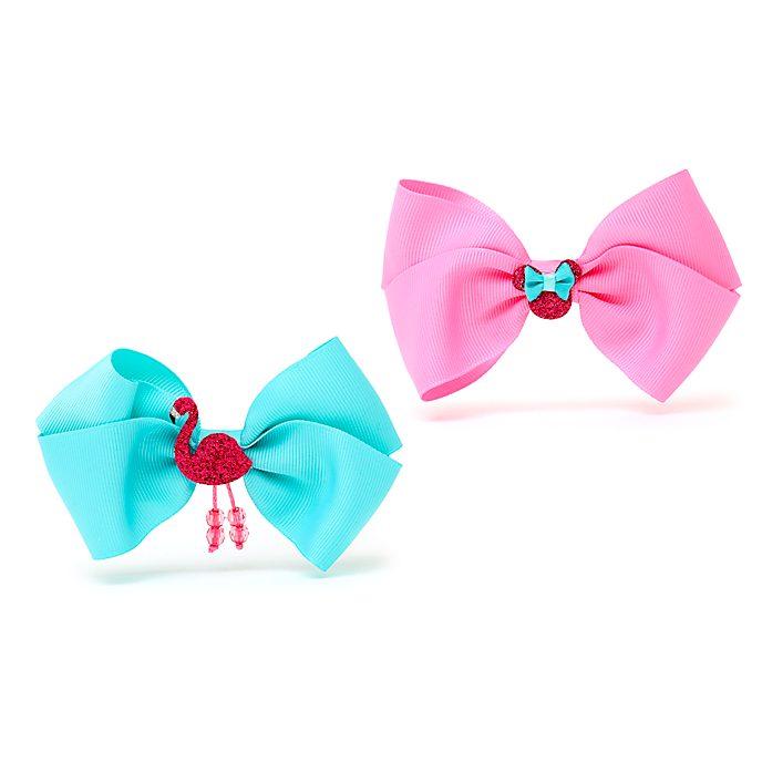 Fermagli per capelli fiocco Minni Disney Store, confezione di 2