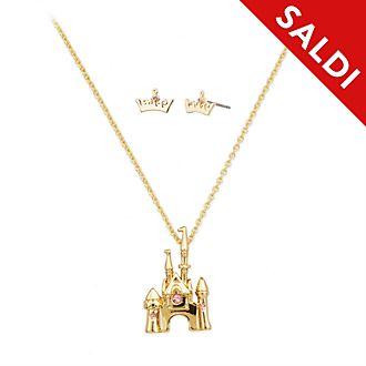 Set collana e orecchini Aurora La Bella Addormentata Disney Store