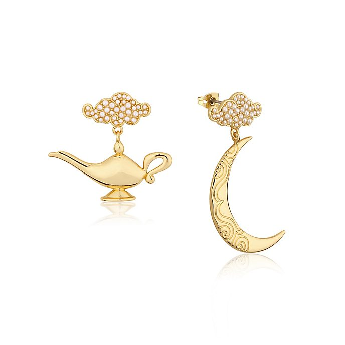 Couture Kingdom Aladdin Genie Lamp Gold-Plated Earrings