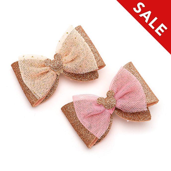 Disney Store - Micky Maus - Roségoldene Haarclips, 2er-Pack
