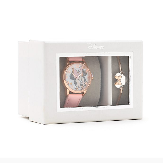 Set regalo reloj y brazalete Minnie Mouse, Disney Store