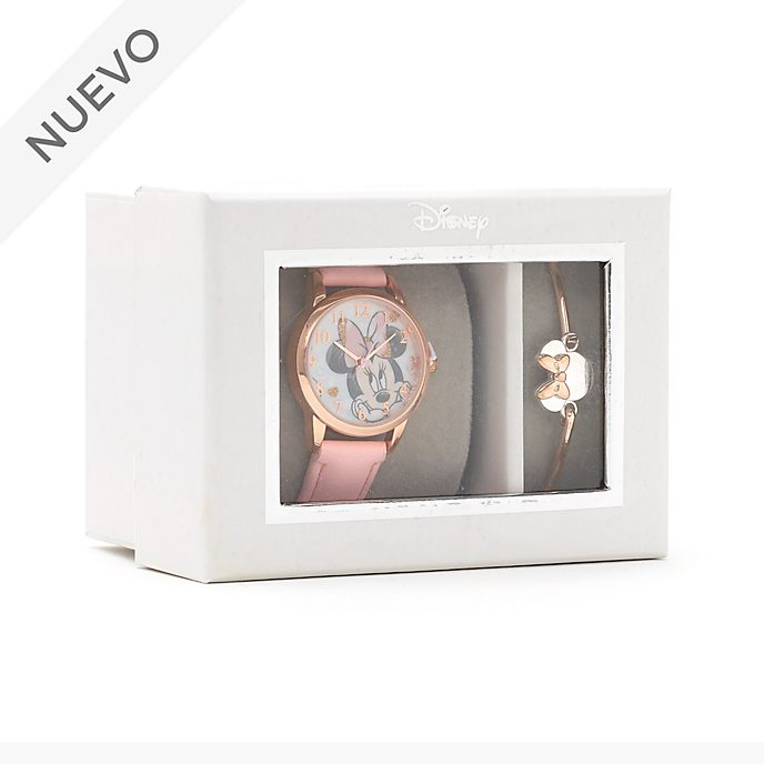 Set regalo reloj y brazalete Minnie Mouse, Disney Store