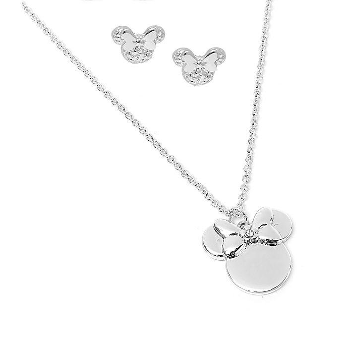 Disney Store - Positively Minnie - Set aus Halskette und Ohrringen