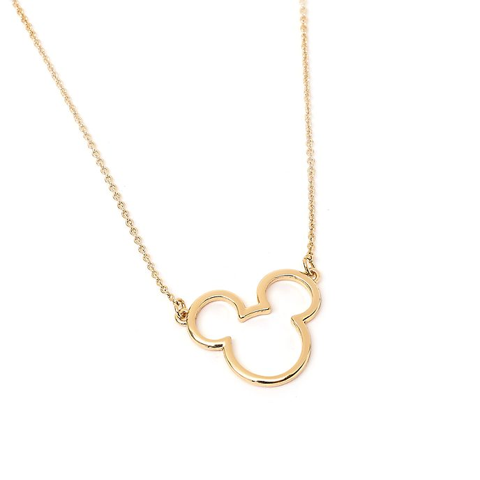 Collar bañado en oro Postively Minnie, Disney Store