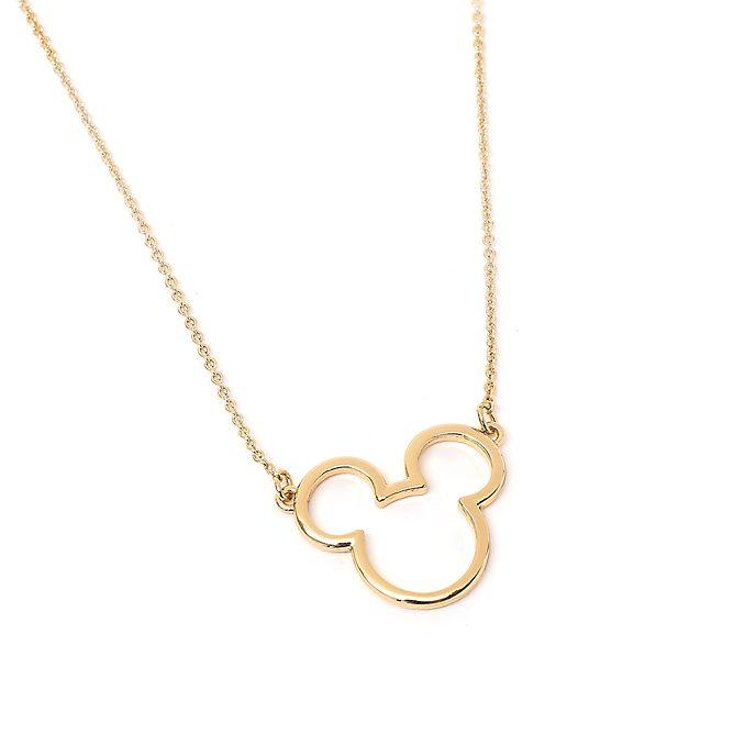 Collana placcata in oro Positively Minnie Minni Disney Store