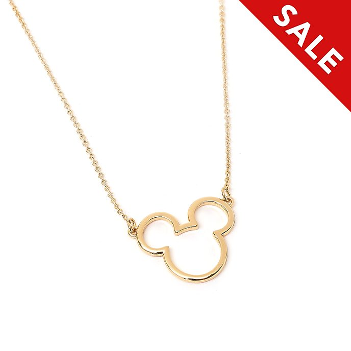 Disney Store Postively Minnie Gold-Plated Necklace