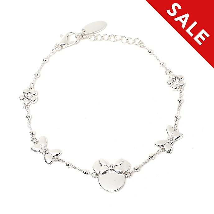 Disney Store Positively Minnie Charm Bracelet