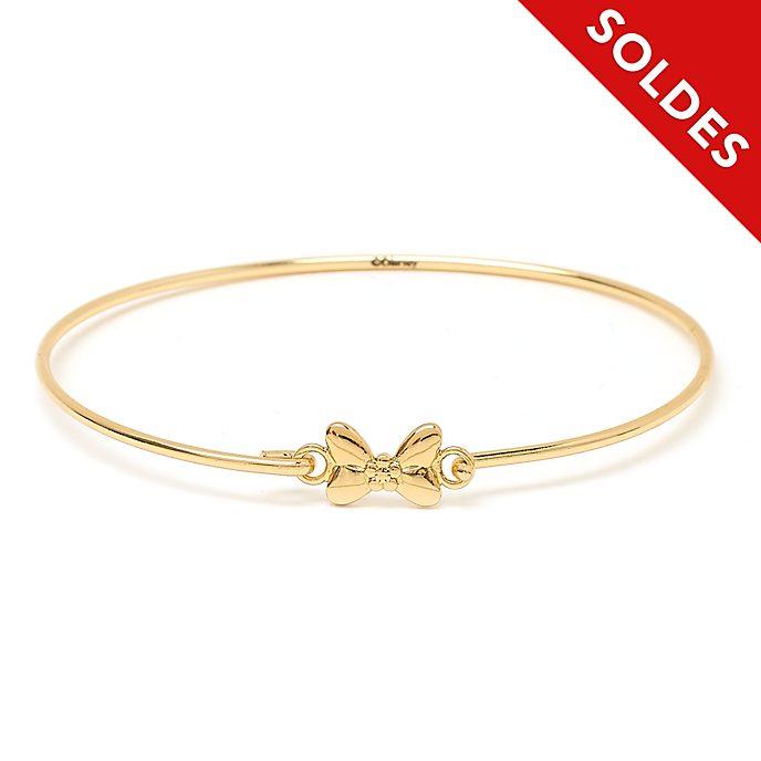 Disney Store Bracelet Minnie plaqué or