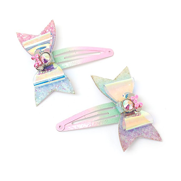 Disney Store Minnie Mouse Mystical Hair Clips, Pack of 2