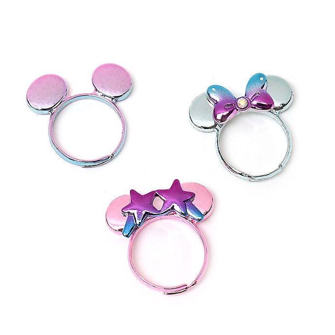 Disney Store Minnie Mouse Mystical Rings, Set of 3