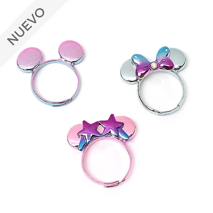 Anillos Minnie Mouse, Mystical, Disney Store (3 u.)