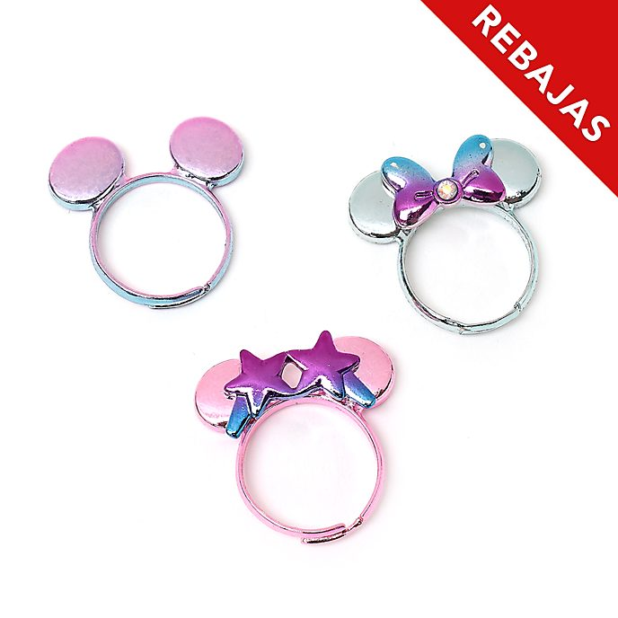 Anillos Minnie Mouse, Mystical, Disney Store (3u.)