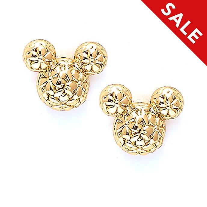 Disney Store - Positively Minnie - Micky Maus - Vergoldete Ohrstecker