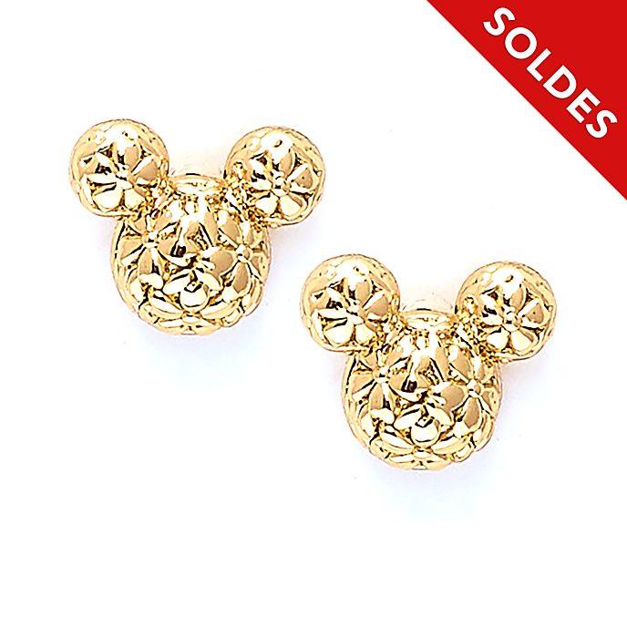 Disney Store Clous d'oreilles plaqués or Mickey, Positively Minnie