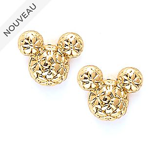 Disney Store Clous d'oreilles plaqués or Mickey, Positively Minnie