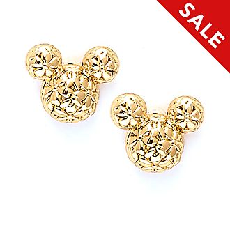 Disney Store - Positively Minnie - Micky Maus - Vergoldete Ohrstecker