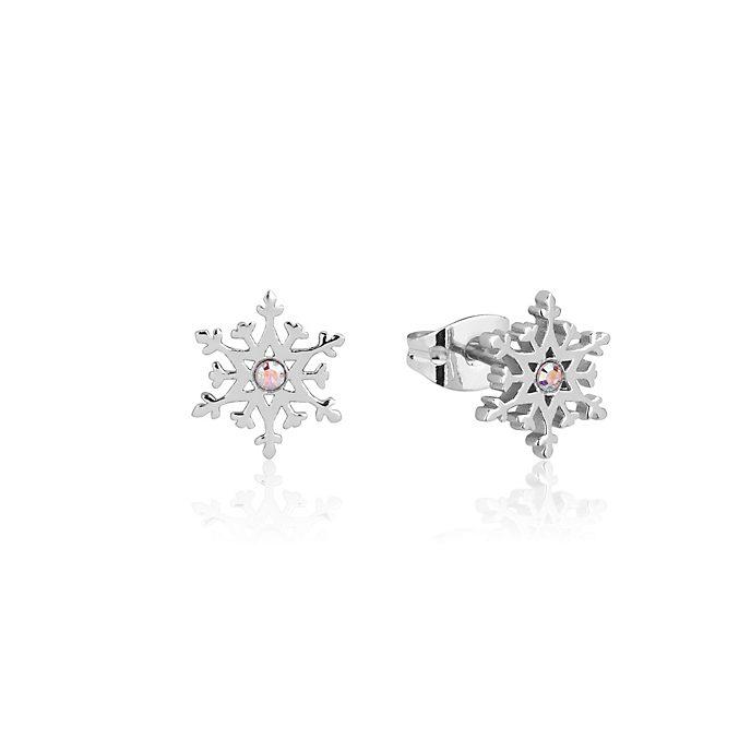 Pendientes de botón de copos de nieve, Frozen 2, Couture Kingdom