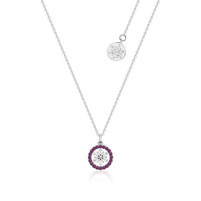 Collana con pietra del mese di febbraio Frozen 2: Il Segreto di Arendelle Couture Kingdom