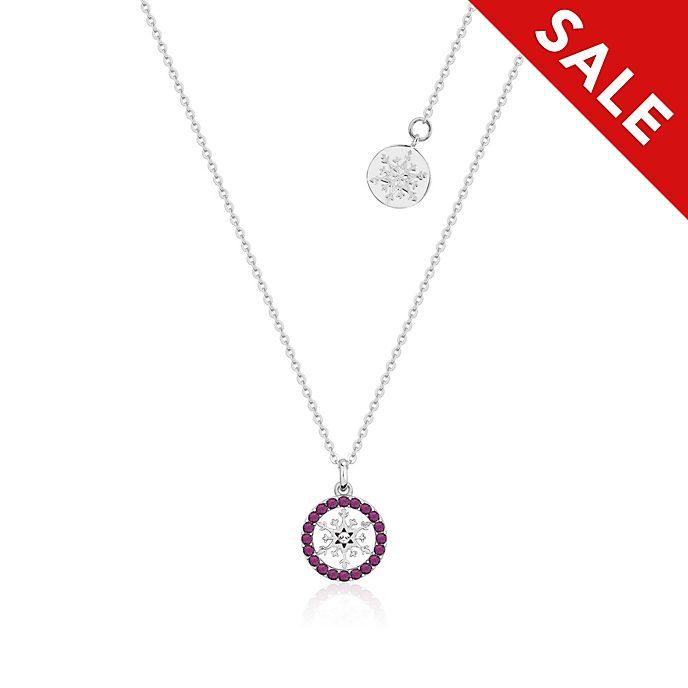 Couture Kingdom - Die Eiskönigin2 - Halskette mit Geburtsstein für Februar
