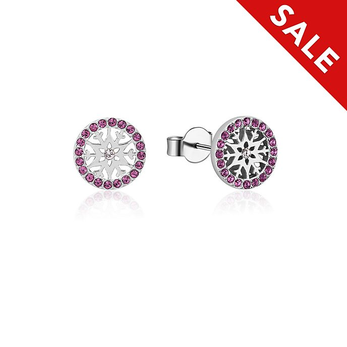 Couture Kingdom Frozen 2 February Birthstone Stud Earrings