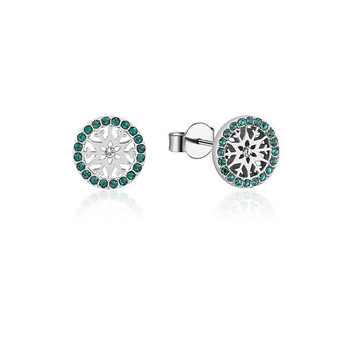 Couture Kingdom Frozen 2 May Birthstone Stud Earrings