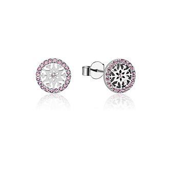 Orecchini a bottone con pietra del mese di giugno Frozen 2: Il Segreto di Arendelle Couture Kingdom