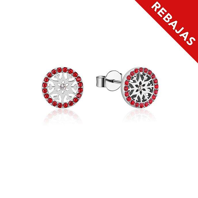 Pendientes de botón de piedra natal, julio, Frozen2, Couture Kingdom