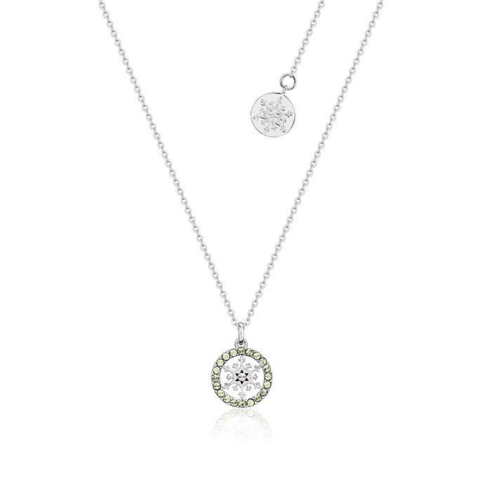 Collana con pietra del mese di agosto Frozen 2: Il Segreto di Arendelle Couture Kingdom