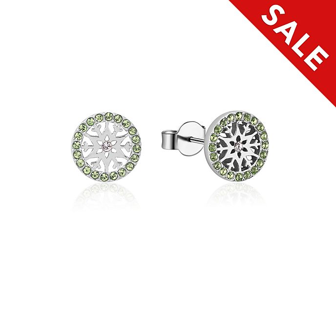 Couture Kingdom Frozen 2 August Birthstone Stud Earrings