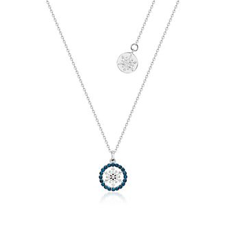 Collana con pietra del mese di dicembre Frozen 2: Il Segreto di Arendelle Couture Kingdom
