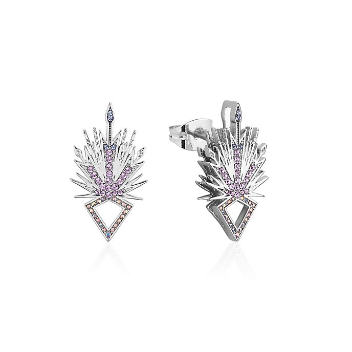 Couture Kingdom Elsa Ice Crystal Stud Earrings, Frozen 2