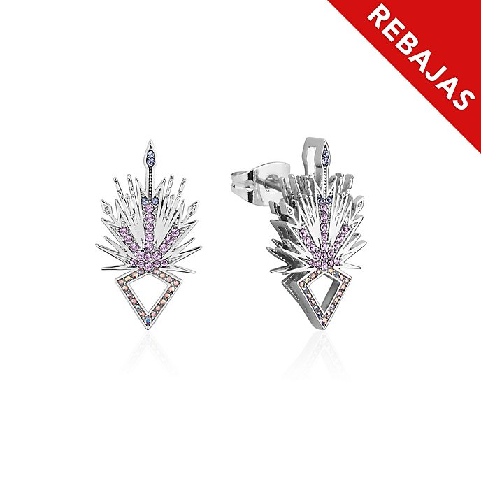 Pendientes de botón cristal de hielo, Elsa, Frozen 2, Couture Kingdom