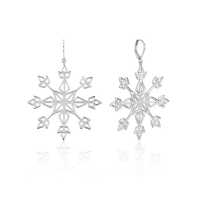 Couture Kingdom Snowflake Statement Drop Earrings, Frozen 2